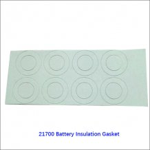 21700 lithium battery positive and hollow tip insulating mat | Insulation electrode gasket