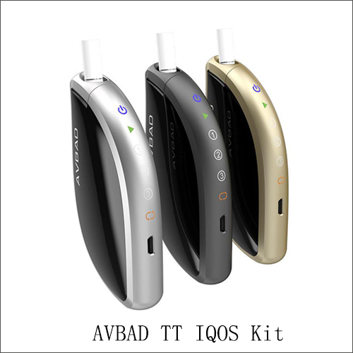Authentic Avbad TT Heatbox Kit with Touch Display Button 1200mAh Built In Heatstick Battery Starter Kit