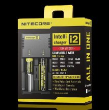 Original NITECORE i2 Battery Charger Universal Intelligent Charger For 18350 18650 18500 Li-ion & Ni-MH battery