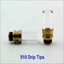 Glass Atomizer Drip Tips 510 Drip Tips for E Cigarettes Atomizer for E Cigarette Vaporizer