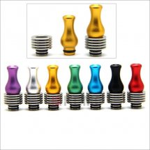 Colorful Stainless 510 drip Tips with heat sink for Diy Atomizer Tanks with removable drip tip 510 style