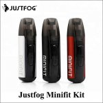 JUSTFOG Minifit 1.5ml capacity 370mAh Battery vapor pen kit pod e-cigarettes