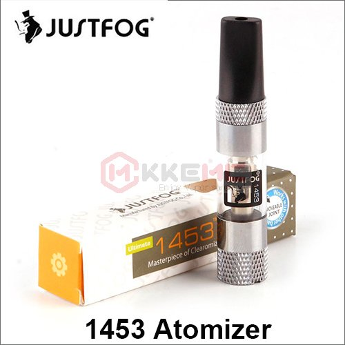 100% Original Justfog 1453 Ultimate Atomizer 1.6ml Clear atomizer for For 510 Thread Battery