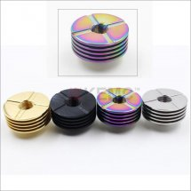 Update Finned Heat Sink Adaptor for 510 thread RBA RDA Huge Vapor Atomizer wholesale china