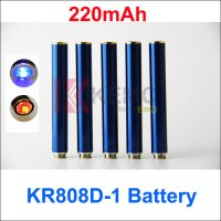 Blue 220mAh AUTO KR808D-1 battery for Kanger 808d-1 DSE901 E-cigarettes 220mah KR808D Battery