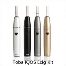 Toba IQOS electronic cigarette kit Dry Herb Vaporizer with 1500mah Battery capacity hot slae e cigarette