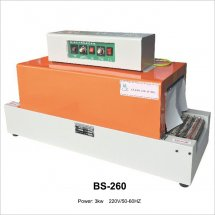 Mini BS-260 auto tunnel shrink wrap machine shrink film packaging machine shrink film machine