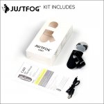Justfog C601 Pod kit 1.7ml capacity 650mah vape pen kit