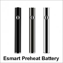 Top Charge Esmart Preheating CBD Battery For 510 Thread CBD Atomizer