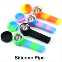 Silicone Pipe Tobacco Smoking Cigarette Water Pipe Shisha Hookah Water Pipe Shisha Hand Spoon Pipes