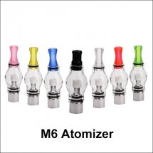 M6 Wax Dry Herb Clearomizer Glass Globe Tank Atomizer