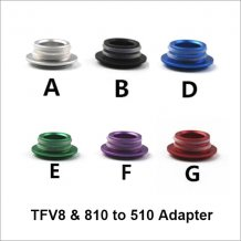 810 to 510 adapter for TFV8 Atomizer