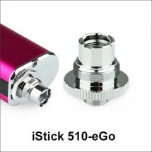 Istick Adapter 510 to eGo thread convertor for istick Battery Box Mod