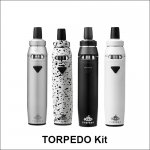 Torpedo electronic cigarette starter kit huge vapor e-cigarette starter kit