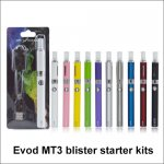 Evod MT3 blister starter kits mt3 tanks vape pen E-cigarette kit
