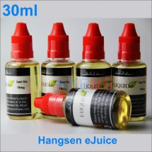 Fruit-100% Original 30ml Hangsen Eliquid for electronic Cigarettes clearomizer hangsen Ejuice Wholesale Free shipping