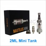 2ml Aspire Nautilus Mini BVC Glass Clearomizers Adjustable Airflow Mini Nautilus Tank System