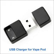 Wireless USB charger for COCO Vape Pod ecig portable and charge easily