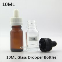 10ml empty Glass eyedropper Bottles for E-juice / E-liquid Container