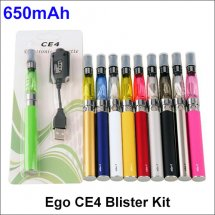 650mAh Ego CE4 Blister Kit CE4 Vape Pen E-cigarette Kit