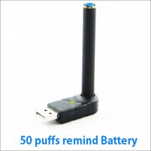 Mate Black 808D Battery with 50 puffs Remind for Ploomtech Cartomizer