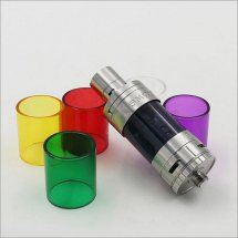 Colorful Glass tube for Smok TFV4 tank replacement tube