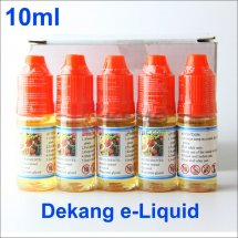 Fruit-Wholesale 100% Original 10ml Dekang e-Juice E-liquid for e-Cigarettes Vapor online shop