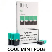 JUUL Cool mint Pods / Cartridges(4-Pack)