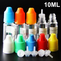 Childproof cap 10ml e-liquid dropper bottles with thinner dropper for 10ml 30ml 50ml e-liquid eCigs e-juice bottles wholesale