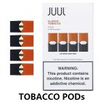 JUUL Class Tobacco Pods / Cartridges(4-Pack)