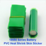 Transparent series 18650 battery Heat Shrink film PVC Sleeve Heat Shrink wrapper Free shipping