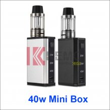 1600mAh Mini 40w Mod E-cigarette Kit 20w 30w 40w full power output