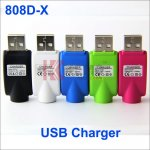 Wireless 808D-X USB Charger for 808D and 808D-X Battery Electronic cigarettes 400mAh 808D-X battery USB Charger