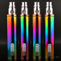 100% Original GS EGO 2 II Rainbow Color 2200mAh Battery E-Cigarette For EGO II Batteries