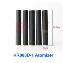 Black 808D-1 Cartomizer for KR808d-1 battery DSE901 E-cigarette Disposable 808d-1 Atomizer(1pcs)