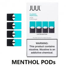 JUUL Menthol Pods / Cartridges(4-Pack)