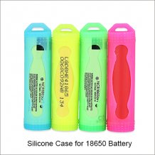 18650 Battery Silicone Case silicone protective sleeve for 18650 Batteries