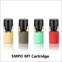 SMPO MT Cartridges with various flavors for SMPO MT Vape Pen Pod Kit