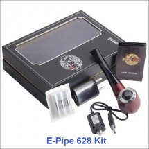 E Pipe 628 Plus Pen Vapor E-cig Vaporizer Full Kit