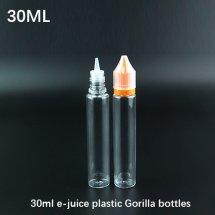 30ml Chubby Gorilla e-juice transparent thin plastic Chubby Gorilla bottles for e-liquid container