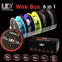 UD Wire Box Kanthal A1 Nichrome Ni200 SS316 for DIY RDA RBA Atomizer Fast heating