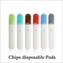 New product GS small Chips disposable e-cig pods this season new elements of the new experience