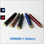 AUTO KR808D-1 battery can be charged on the bottom for kr808d-1 DSE901 E-cigarettes KR808D Battery