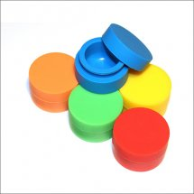 5ml Non-stick wax containers silicone box food grade wax jars dab tool for vaporizer