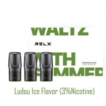 Ludou Ice Flavor Relx Vape Pods 3pcs / Pack - 3% Nicotine