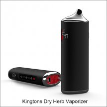 Kingtons Black Widow Dry Herb Vaporizer 3 in 1 Wax Oil Herbal Vaporizer