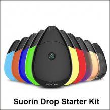 Suorin Drop Starter Kit with 2ml e-juice capacity and 310mAh battery