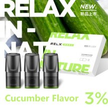 Cucumber Flavor Relx Cartridges 3pcs / Pack - 3% Nicotine
