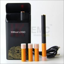 Mini V1-Power Electronic Cigarettes Kit 2pcs 180mah 808d- Battery with 4pcs 808d cartomizer