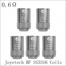0.6ohm joyetech Cubis BF Coils SS3316 Atomizer coils for Cubis and AIO